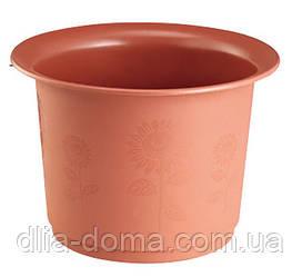 Горшок для цветов Подсолнух, диаметр 23 см,3001