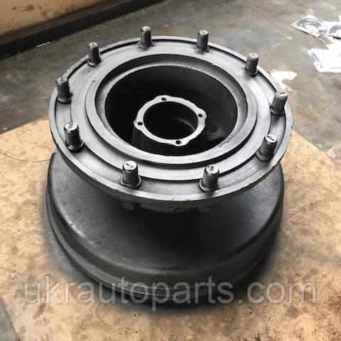 Ступица колеса ЛАЗ 695Н переднего (В СБОРЕ с барабаном) (ПРАВАЯ) (158-3103010)
