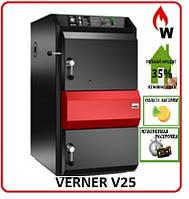 Пиролизный котел Verner V25 кВт (Чехия), фото 1