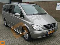 Боковые пороги Mercedes Vito W639 (площадка С2)