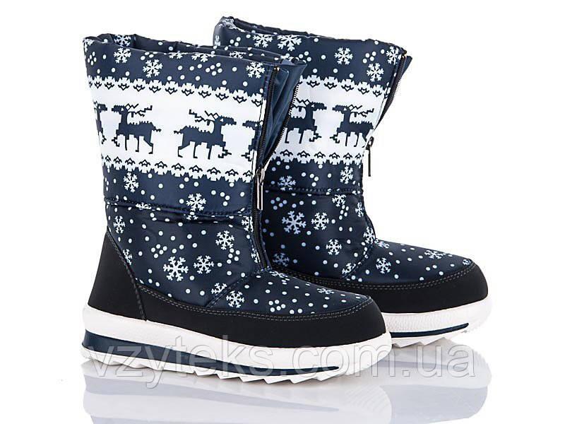 Купить Дутики женские зимние с оленями оптом Хмельницкий  36fc978e505e4