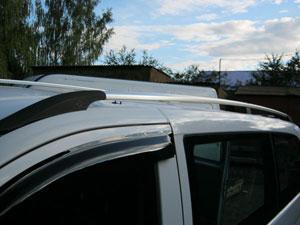 Рейлинги на крышу Mercedes Vito W639 (хром)