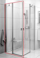 Душевая дверь Chrome CRV2-80 bright alu+Transparent RAVAK