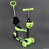 Самокат детский трехколесный Scooter 4в1 S 00039, салатовый ***