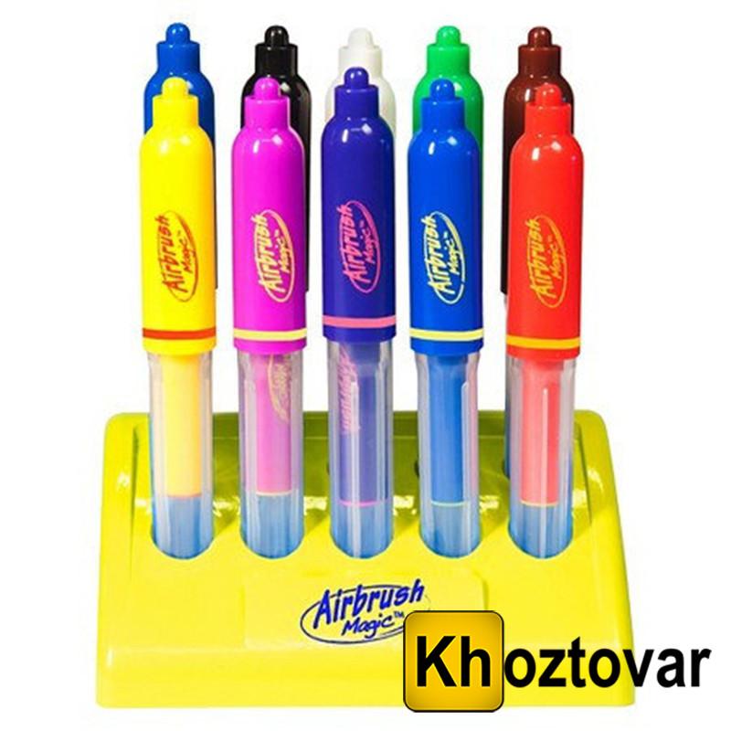 Фломастери Airbrush Magic Pens