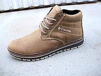 Зимние кожаные мужские ботинки 40-45 р-р, фото 1