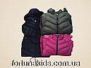 Куртки зимние на меху для девочек KE YI QI 8-16 лет