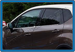 Комплект оконтовок на окна Renault Captur 2013+гг.