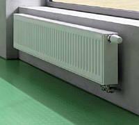 Стальной панельный радиатор Kermi тип 33 высота 300, низ.