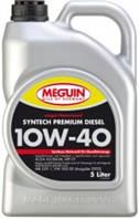 Полусинтетическое моторное масло MEGUIN megol motorenoel Syntech Premium DIESEL SAE 10W-40 5L