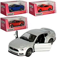 Машина металлическая коллекционная Ford Mustang GT в коробке 16*8.5*7.5