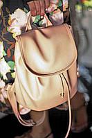 Городской рюкзак c крышкой Mod MINI золотой