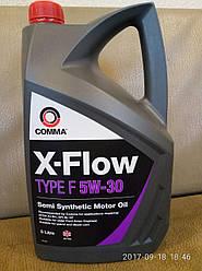 Масло моторное  X-FLOW F  5W30 COMMA (5L)