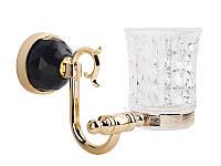 Стакан для зубных щеток Kugu Diamond 1106G, золото