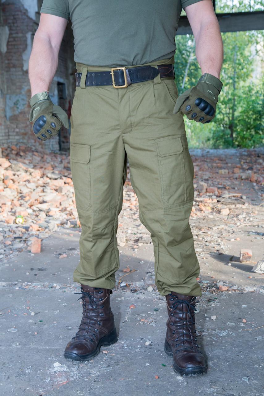 """Зимові штани """"Варяг"""" 100% х / б (наметова тканина) + флісова підкладка"""