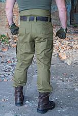 """Зимові штани """"Варяг"""" 100% х / б (наметова тканина) + флісова підкладка, фото 2"""