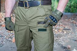 """Зимові штани """"Варяг"""" 100% х / б (наметова тканина) + флісова підкладка, фото 3"""