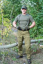 """Зимние брюки """"ВАРЯГ"""" 100%х/б (палаточная ткань)+ флисовая подкладка, фото 3"""