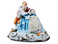 Статуэтка Сладкий поцелуй 26 см фарфор Италия
