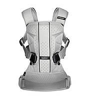 Многофункциональный рюкзак для переноски детей BABYBJORN ONE Air - Silver Mesh, фото 1