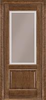 Классические межкомнатные двери модель 04 дуб браун