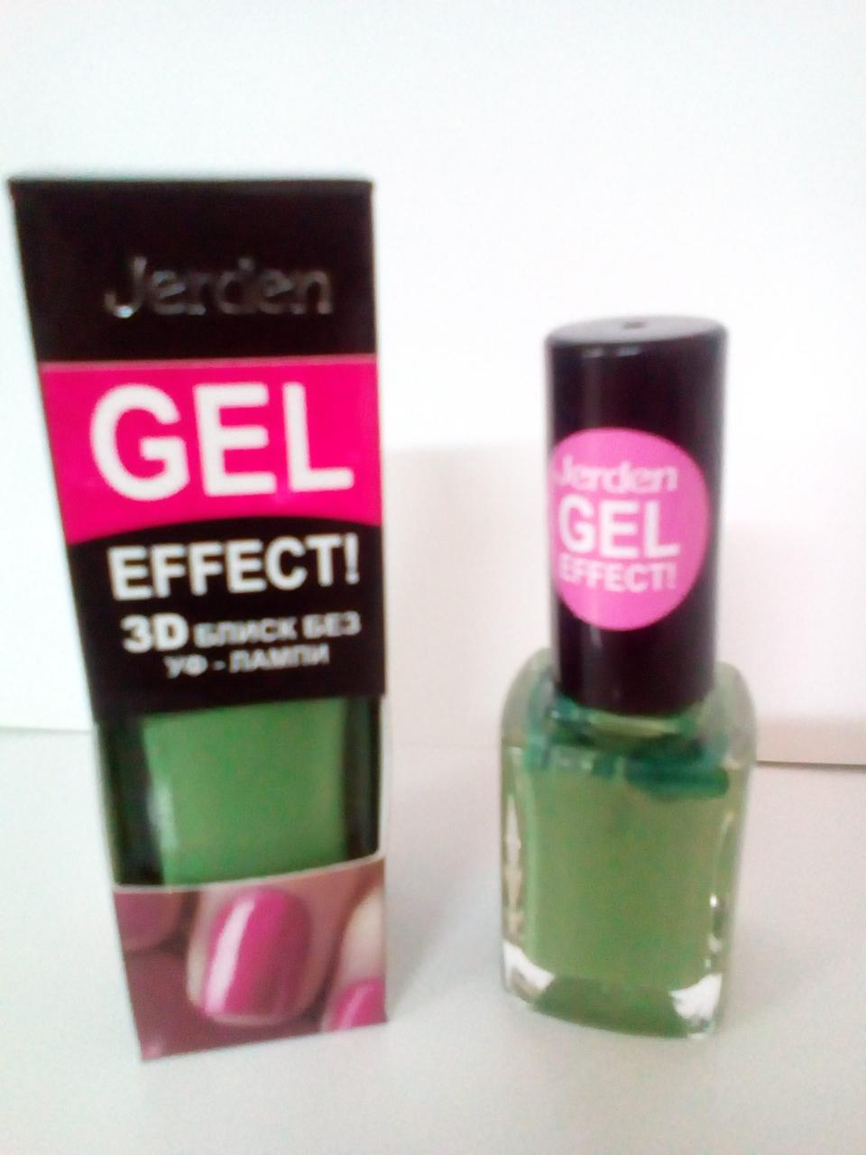 Лак для ногтей Jerden Gel Effect № 17 ( green apple) (9мл)