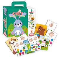 Пазлы-двойняшки для малышей Счёт, Vladi Toys, VT2904-05