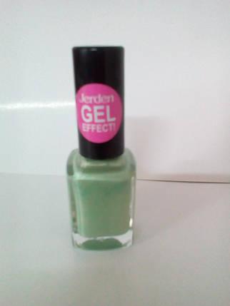 Лак для ногтей Jerden Gel Effect № 18 (summer fresh) (9мл) , фото 2