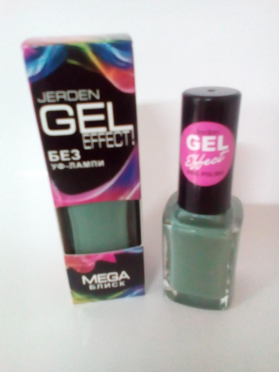 Лак для ногтей Jerden Gel Effect № 19 (mojito) (9мл)
