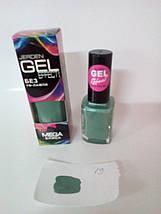 Лак для ногтей Jerden Gel Effect № 19 (mojito) (9мл) , фото 2