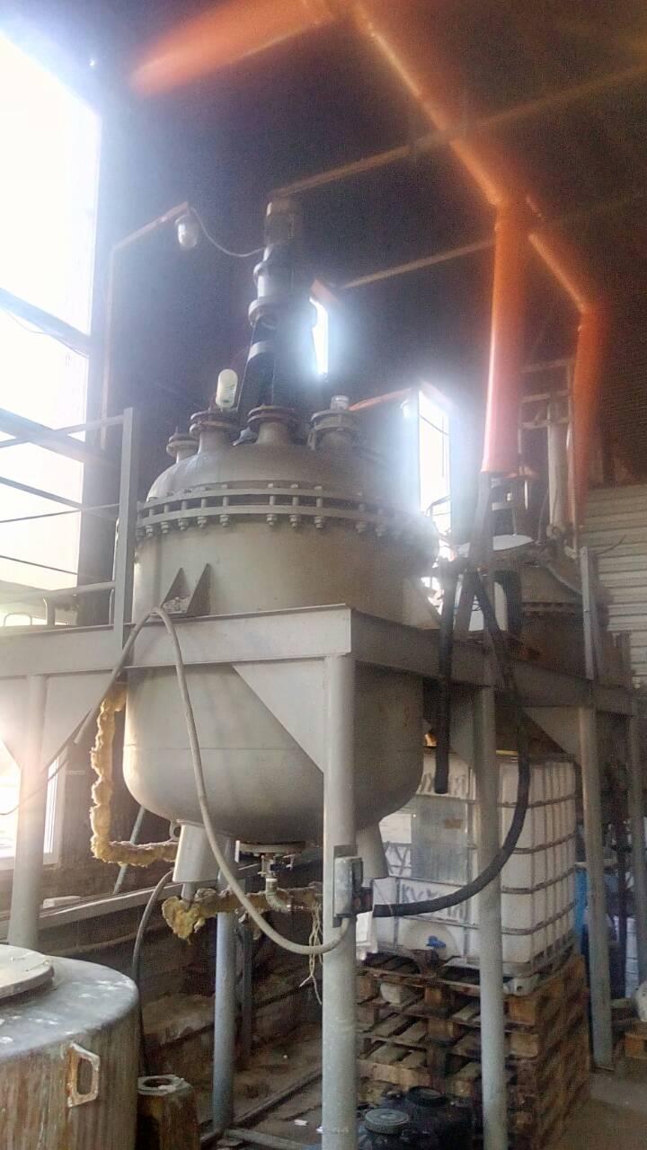 Химический реактор 0,6м³ для смешивания ваших компонентов. Аренда
