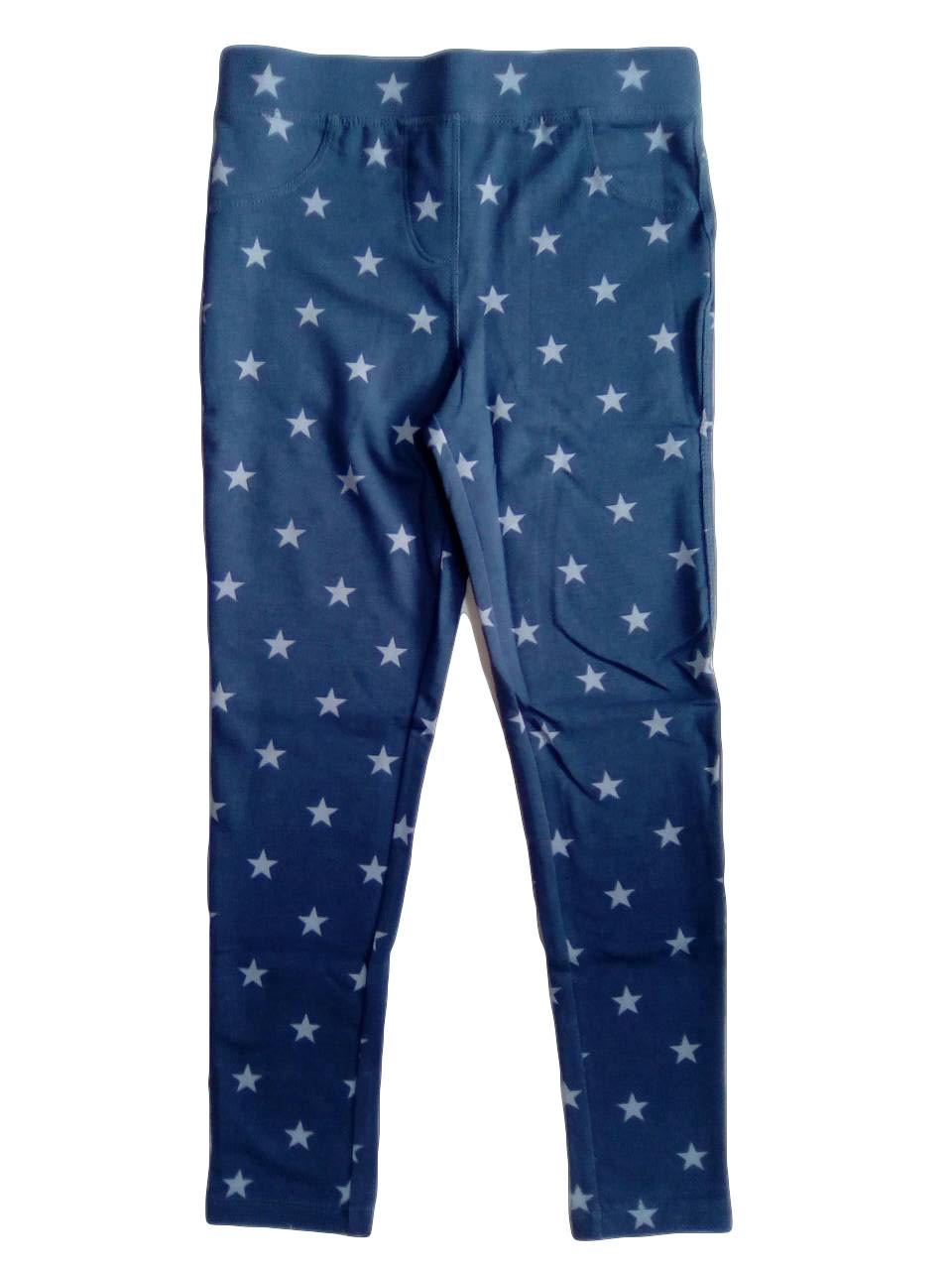 Лосины для девочек, под джинс, размер 146/152, Pepperts, арт. Л-627