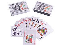 Карты пластиковые Dollar Silver (54 шт) №408-4