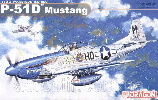 P-51D Mustang 1/32 DRAGON 3201