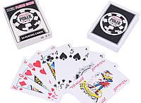 Карты пластиковые Poker (54 шт) №408-30-3