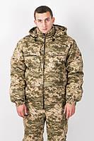 Костюм камуфляжный зимний для охоты и рыбалки Пиксель Украина-5