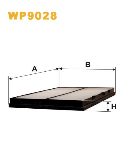 Фильтр салонный WIX WP9028 (K1145)