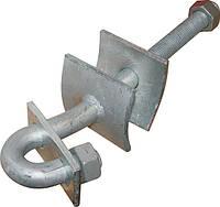 Сквозной крюк e.through.hook.pro.310.20.s 240мм М20 з предохранительной пластиной, фото 1