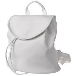 Городской рюкзак c крышкой Mod MINI белый