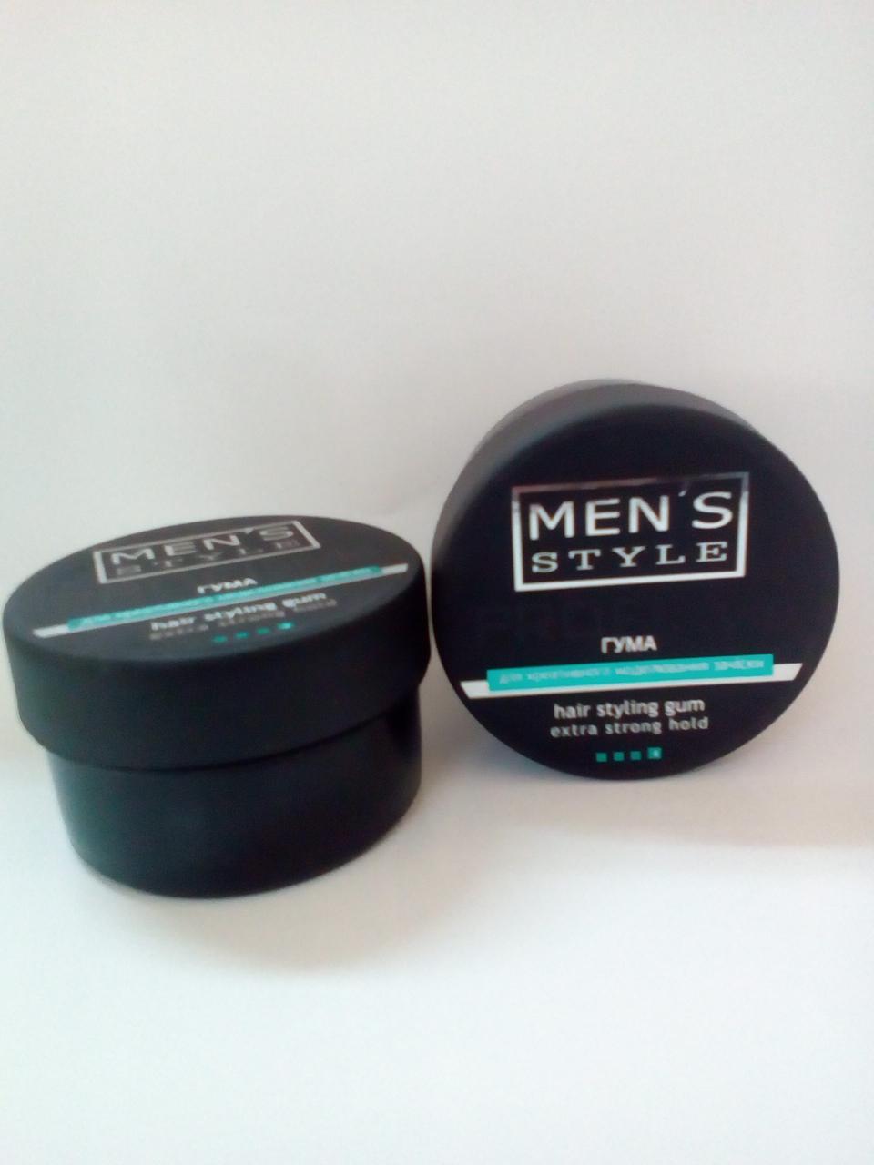 Гума MEN'S Style для креативного моделювання зачіски, Profi Style (Viki) 80 мл