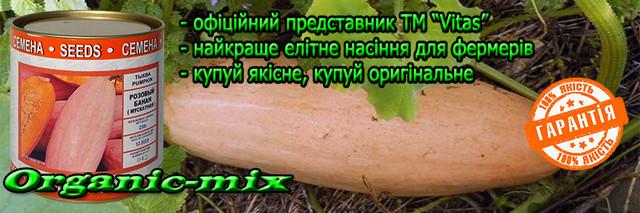 Семена тыквы розовый банан