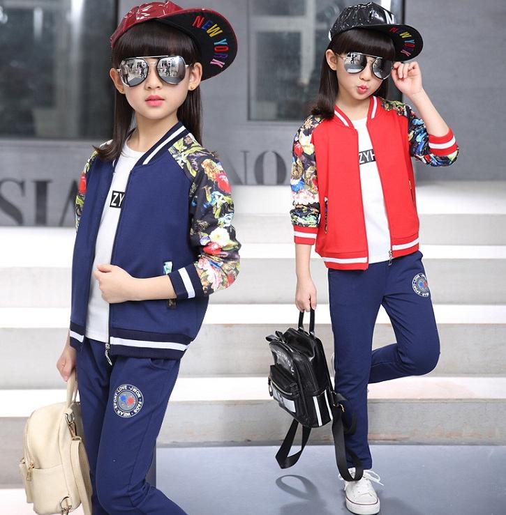 Стильний спортивний костюм Нью-Йорк для дівчаток   продажа 3ad162d32d5c1