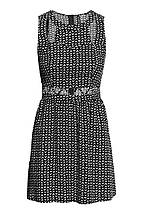 Платье в принт с вырезами H&M, фото 2