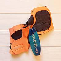 Перчатки спортивные оранжевые
