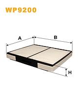 Фильтр салонный WIX WP9200 (K1149)