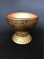 Керамическая ваза - горшок , в- около 15 см, фото 1