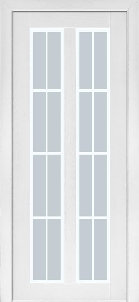 Межкомнатные двери Terminus  ясень белый эмаль модель 117 - Модный Дом в Киеве