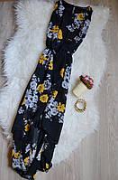 Шифоновое цветочное платье с каскадной юбкой Atmosphere