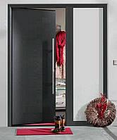 Входные двери Thermo65 Мотив 010 Titan Metallic CH 703 Decograin