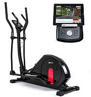 Орбитрек Hop-Sport HS-55E Elite black/red iConsole+ для дома и спортзала